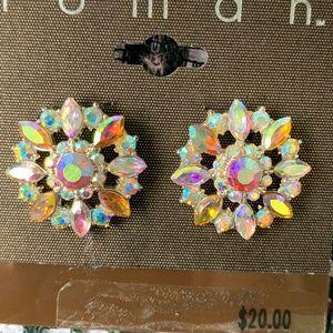 Multi-color jeweled Earrings
